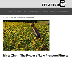 Trista Zinn - The Power of Low Pressure Fitness, FitAfter45